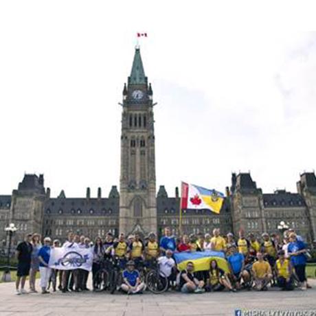 the Ukrainian National Federation's Ottawa-Gatineau branch (UNF O-G) members photo