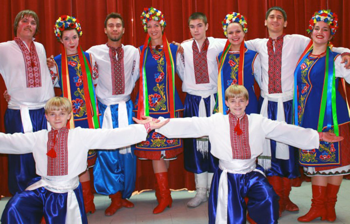 UNF Ukrainian Language Evening School in Sudbury students